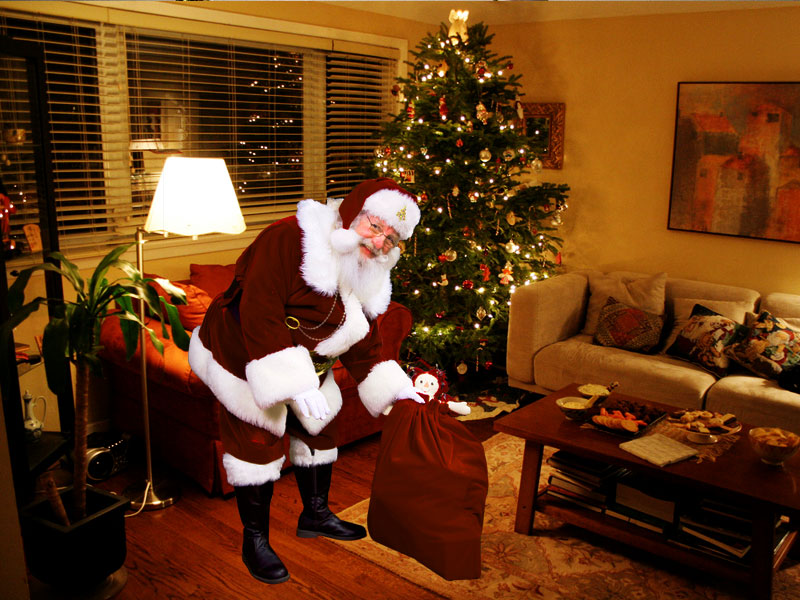 tucker gunleather blog blog archive catch santa in your living room
